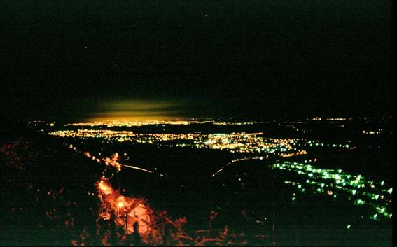 Worcester at Night 2003